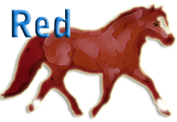 Red color in horses